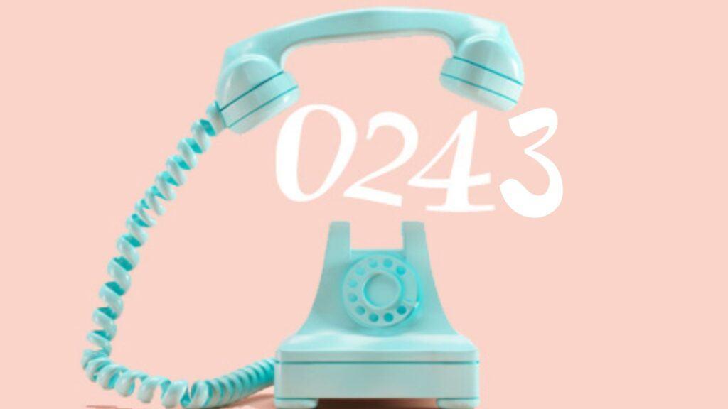 0243 là mã vùng ở đâu