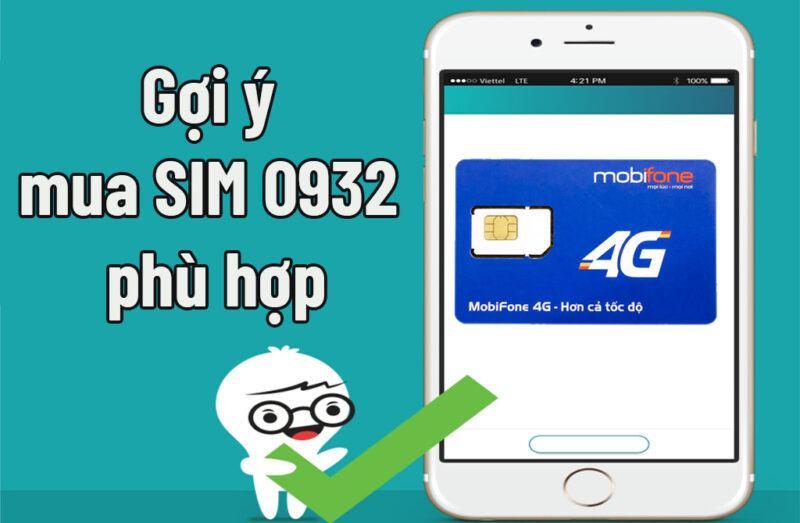 Cách chọn SIM đầu số 0932