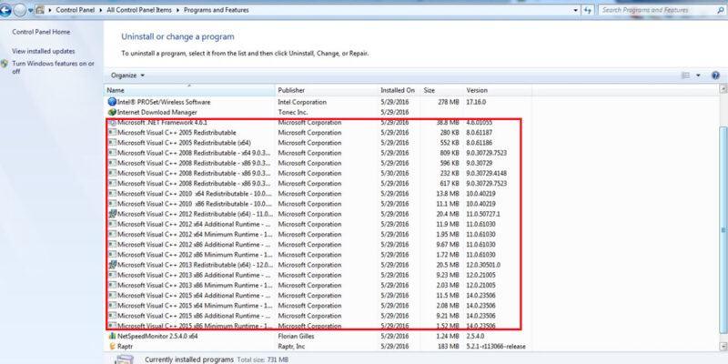 Microsoft Visual C++ là gì? Có nên xóa khỏi cài đặt của máy tính