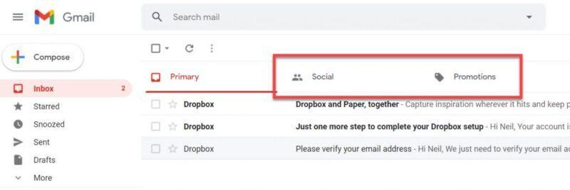 thư lưu trữ trong gmail nằm ở đâu