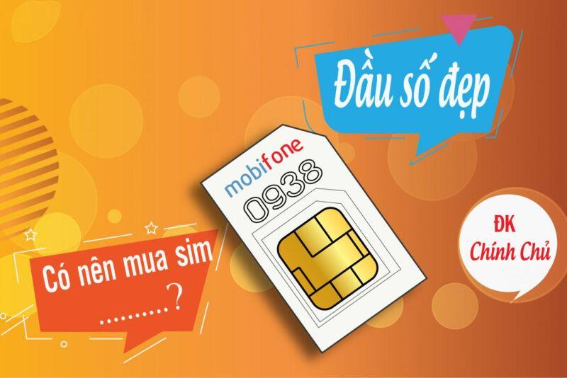 Lý do nên mua SIM đầu số đẹp 0938