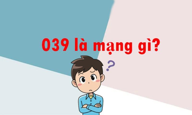 039 là mạng gì?