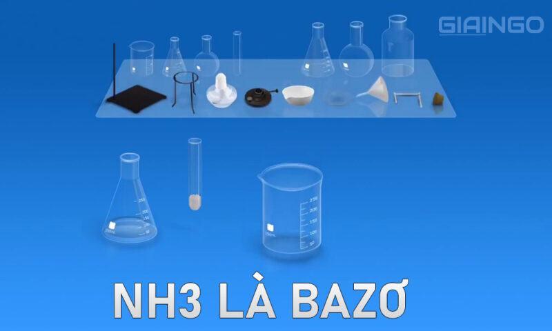 NH3 là axit hay bazơ?