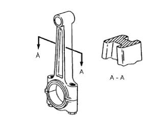 Tại sao ở đầu nhỏ và đầu to thanh truyền cần phải lắp bạc lót hoặc ổ bi?