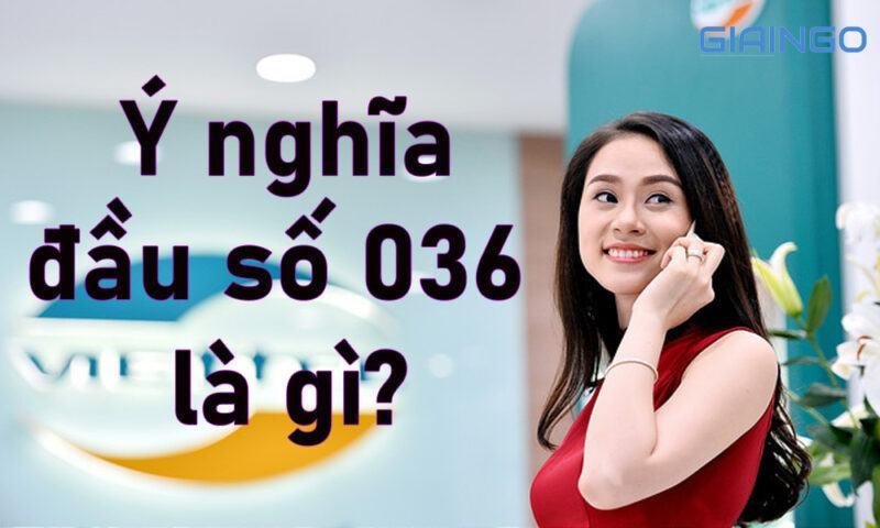 Ý nghĩa đầu số 036 là gì?