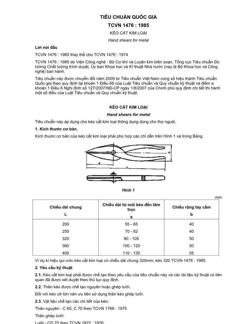tại sao kéo cắt kim loại có tay cầm dài hơn lưỡi kéo?