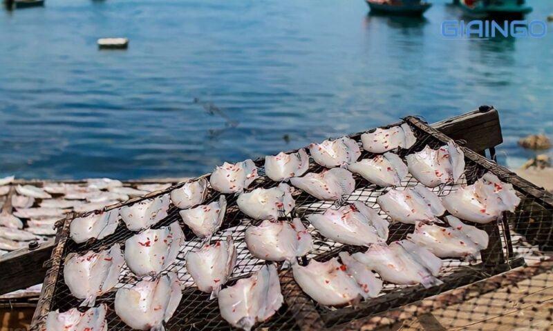 Đến Nam Du nên thưởng thức cá khô