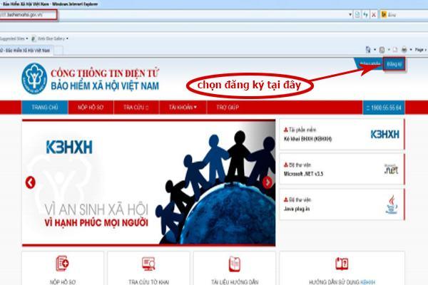 Cách đăng ký bảo hiểm xã hội số VssID