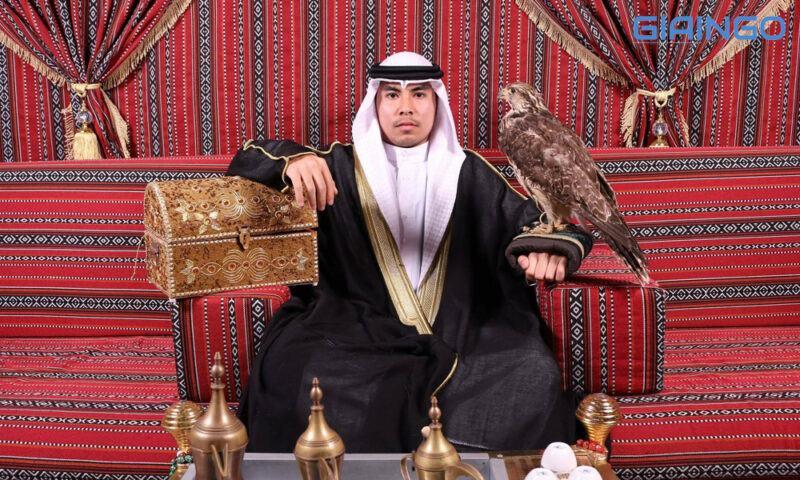 'Hoàng tử Ả Rập' với những phát ngôn để đời trên mạng
