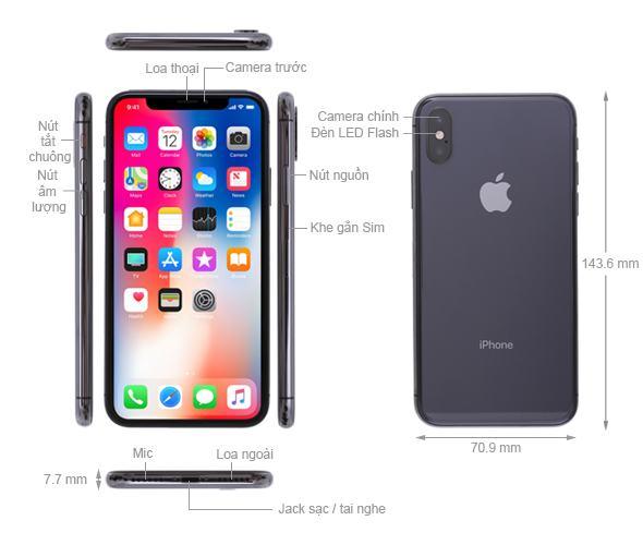 IPhone X ra mắt năm nào?