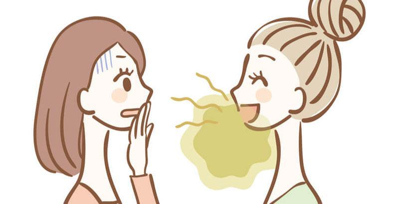 Nguyên nhân gây hôi miệng?