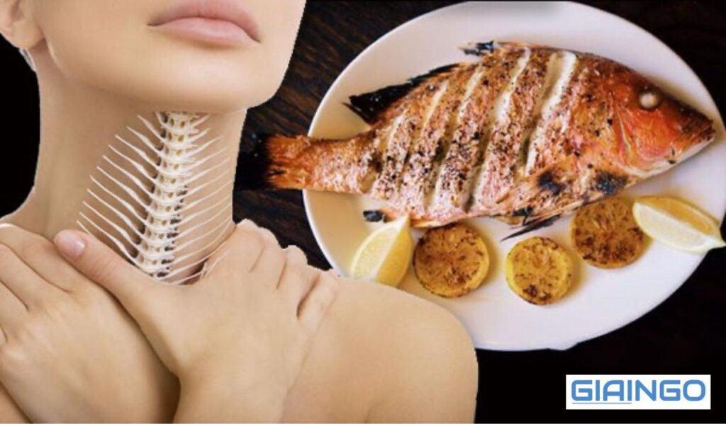 cách chữa hóc xương cá