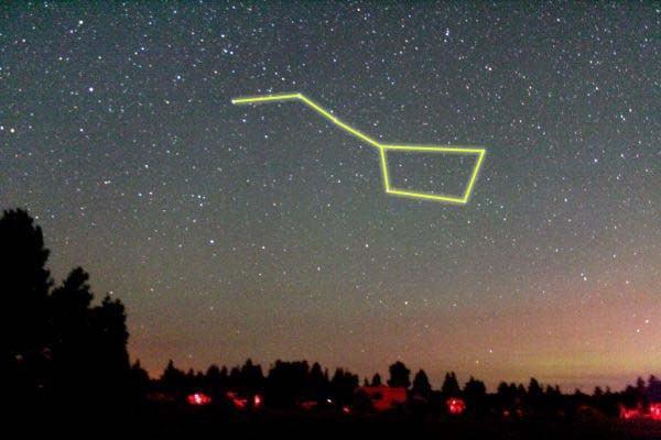 sao bắc đẩu nằm ở chòm sao nào