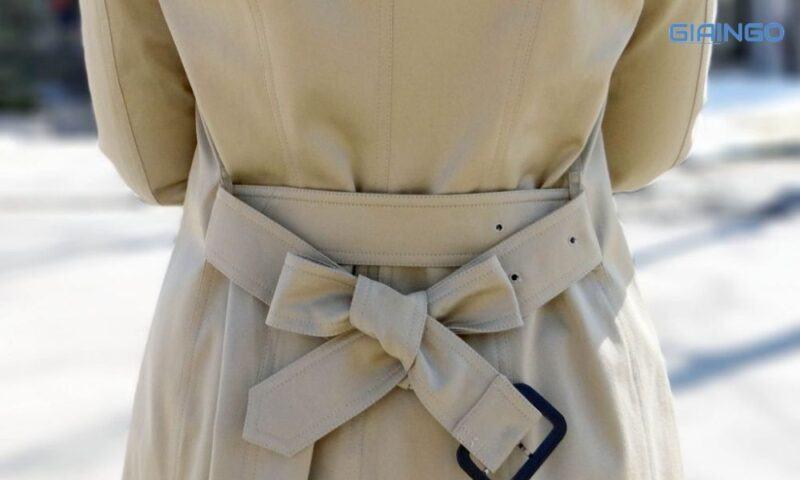 Cách thắt dây áo khoác