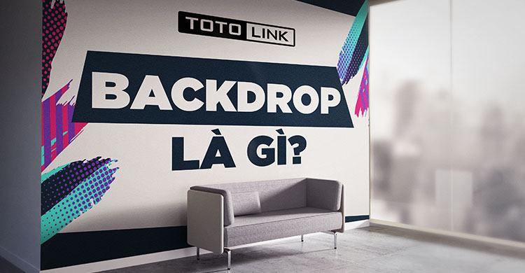 Backdrop là gì