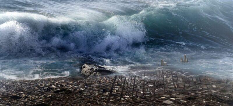 nguyên nhân gây ra sóng thần