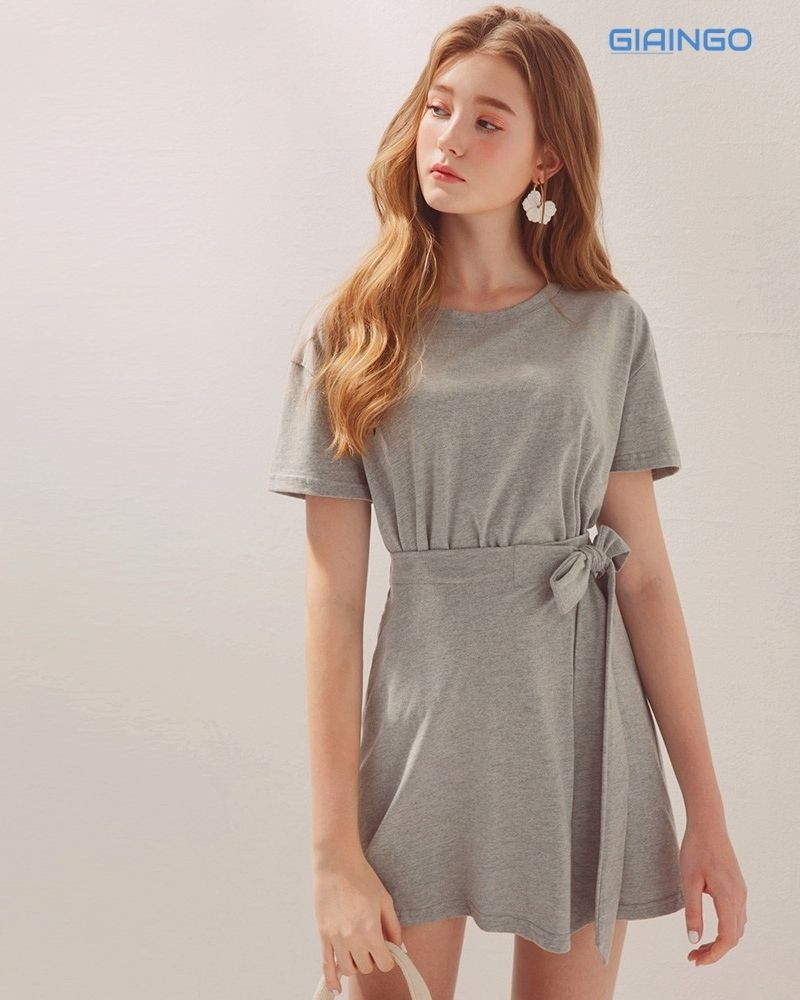 Cách thắt nơ áo váy