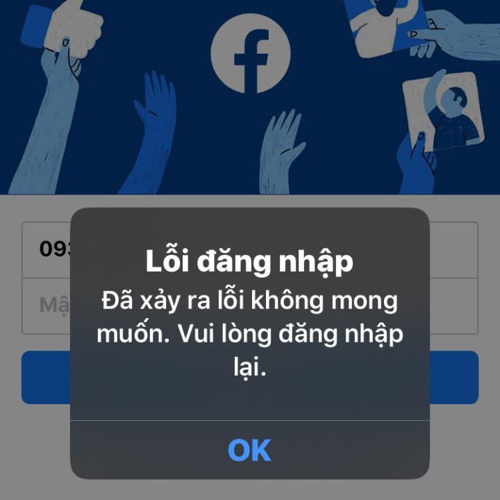 Tại sao không vào được Facebook?
