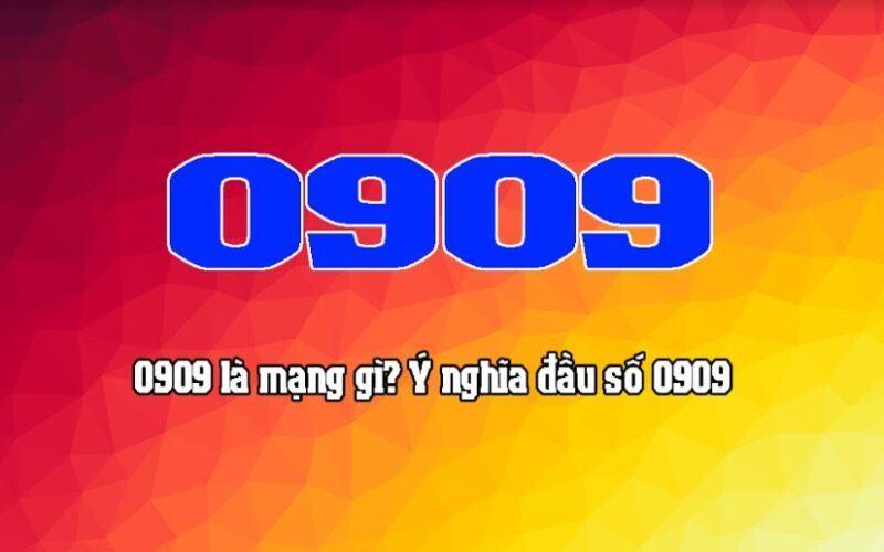 0909 là mạng gì?