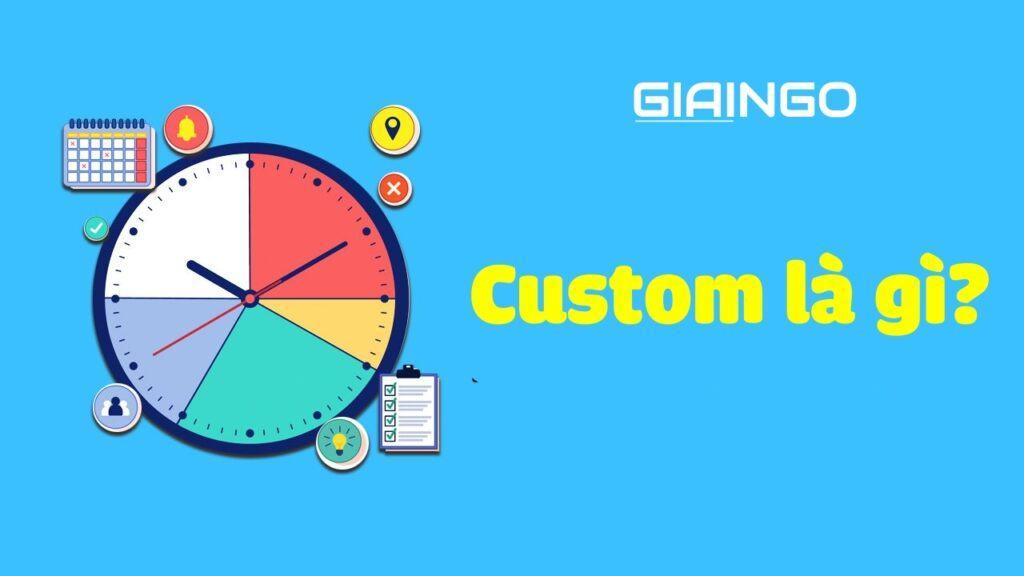 custom là gì