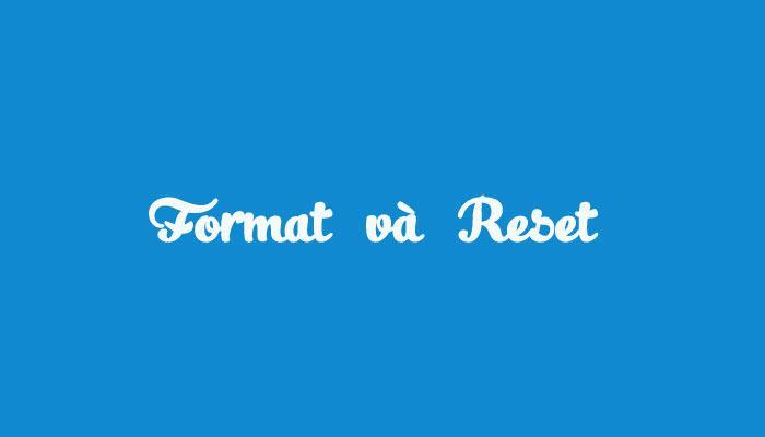 Format là gì?