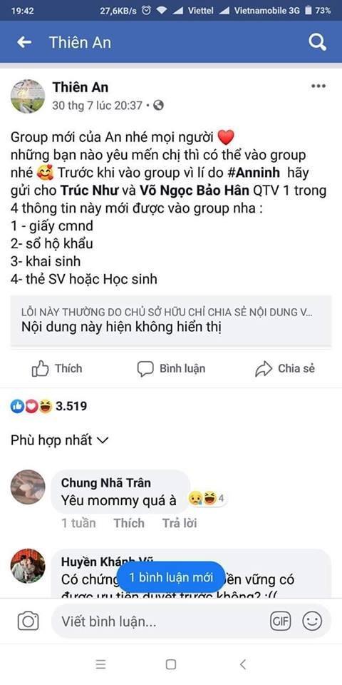 Thiên An là ai?