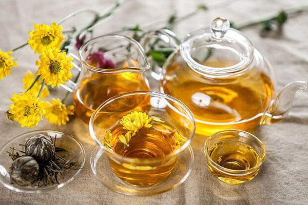 trà hoa cúc có tác dụng gì