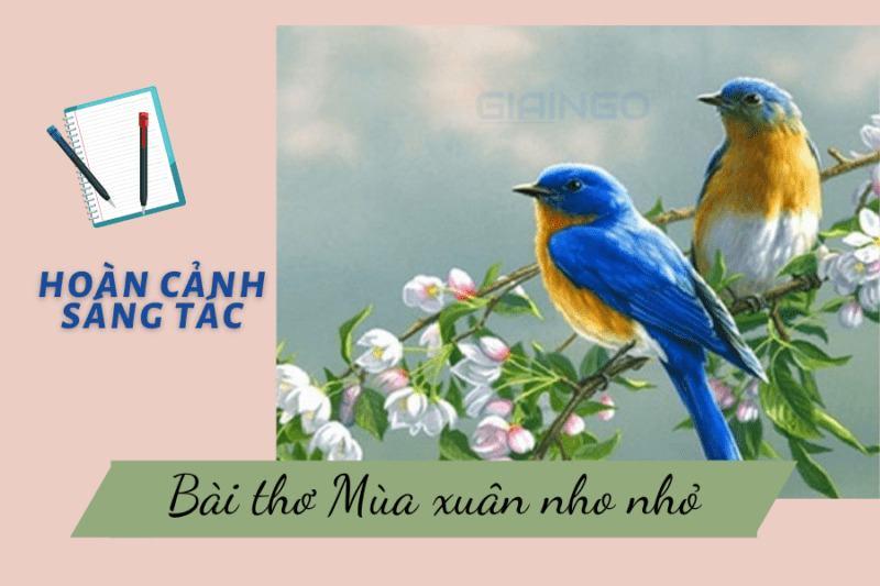 Ý nghĩa nhan đề Mùa xuân nho nhỏ của Thanh Hải?