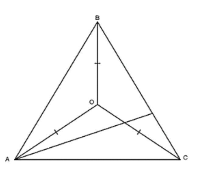tính chất 3 đường trung trực của tam giác
