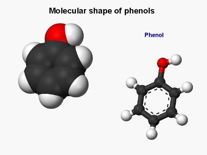 Tính chất hóa học của phenol