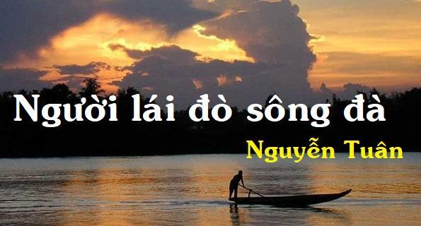 Soạn bài Người lái đò sông Đà