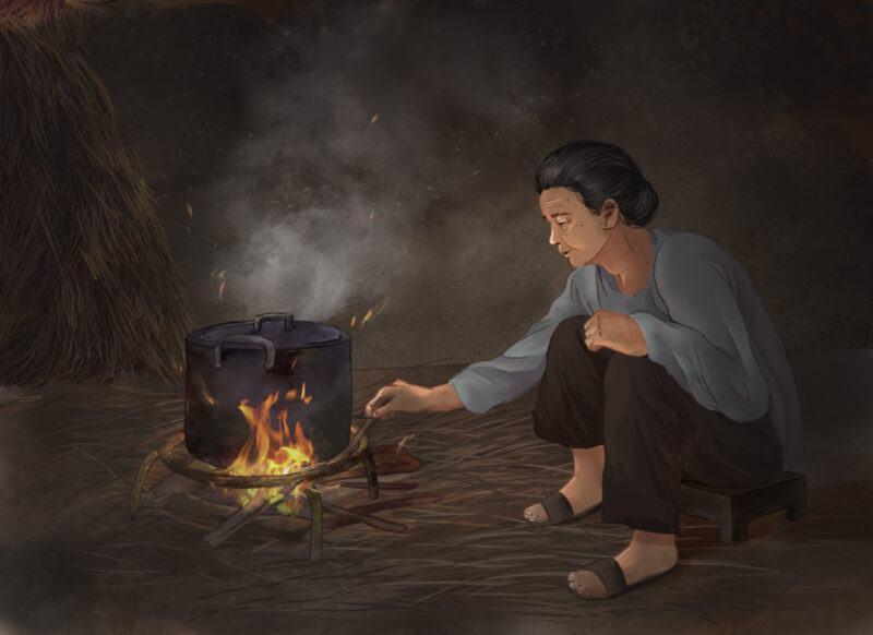 Soạn bài Bếp lửa