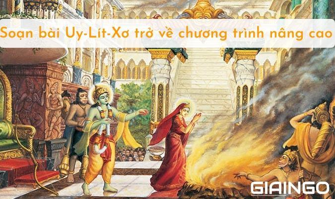 Soạn bài Uy-Lít-Xơ trở về