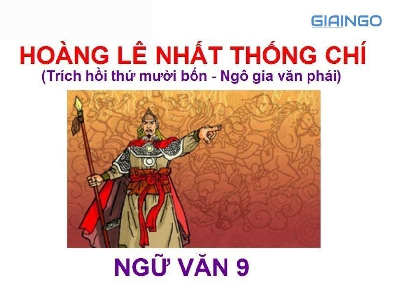 Tại sao gọi Hoàng Lê nhất thống chí là tiểu thuyết lịch sử?