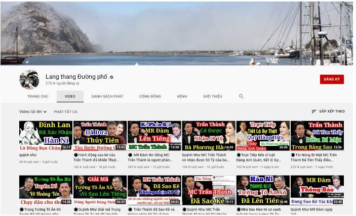Youtuber Quỳnh Như kênh Lang Thang Đường Phố là ai?
