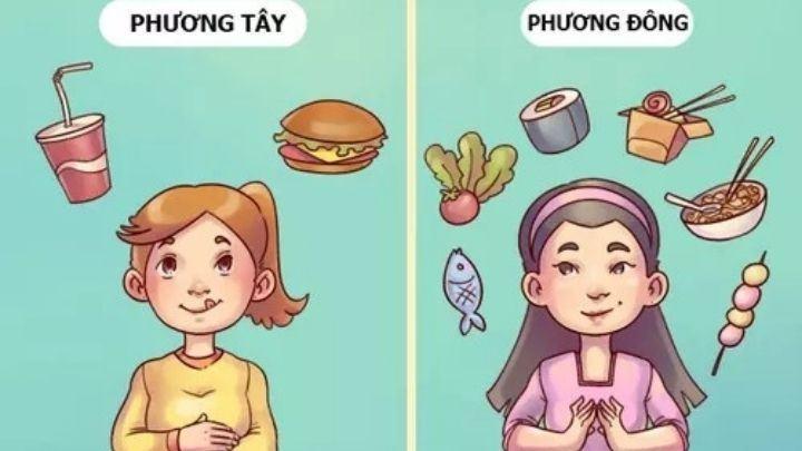 Bật mí 22 sự khác nhau giữa phương Đông và phương Tây